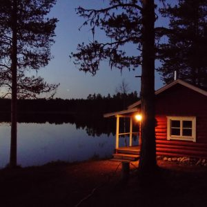 Day and night, you can enjoy the beautiful lake view and wide skies above.