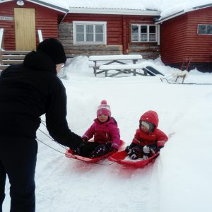 Sledding is great fun for kids and adults