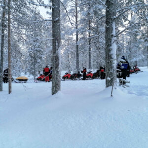 New forest trail for snow mobiles